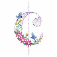 Floral Music Notes