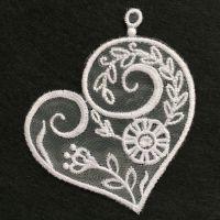 Organza Hearts