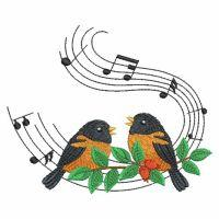 Winter Musical Birds