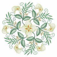 Rippled Floral Wreath
