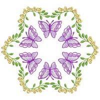 Butterfly Quilt Blocks 3-7