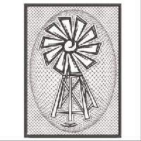 PEWTER WINDMILLS 1