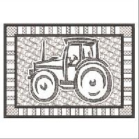 PEWTER TRACTORS
