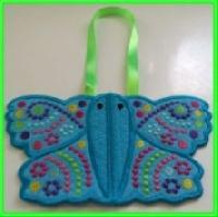 Dashing ITH Butterfly Potholders