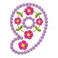 Candlewick & Flowers Alphabet