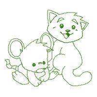 CARTOONISH BABY ANIMALS