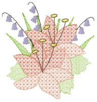 Crochet Lilies