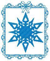 Framed Snowflakes