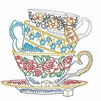High Tea Colour Work