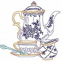 High Tea Colour Work
