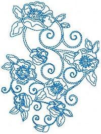 Summer Swirly Blooms
