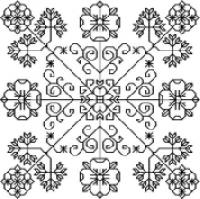 Blackwork Beauties Collection 2