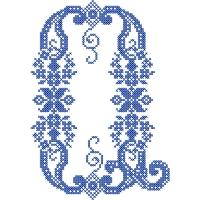 French Cross Stitch Alphabet