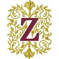 Victorian Ornamental Alphabet