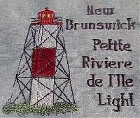 New Brunswick Canada Lighthouse Blocks