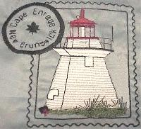 New Brunswick Canada Lighthouse Stamps