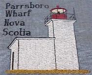 Nova Scotia Lighthouse Blocks
