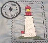 Nova Scotia Lighthouse Stamps