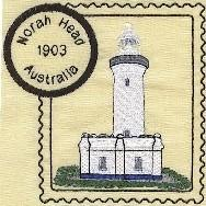 Australia Lighthouse Stamps 1