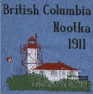 British Columbia Set 1 Lighthouse Blocks
