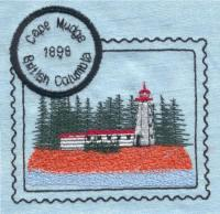 British Columbia Set 1 Lighthouse Stamps