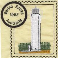 Australia 2 Lighthouse Stamps