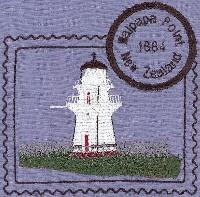 New Zealand 3 Lighthouse Stamps