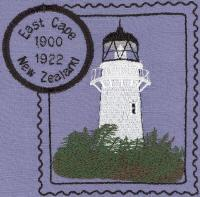 New Zealand 2 Lighthouse Stamps