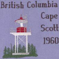 British Columbia 2 Lighthouse Blocks