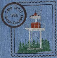 British Columbia 2 Lighthouse Stamps