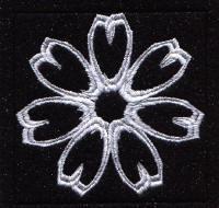 Keyboard Snowflakes Set A