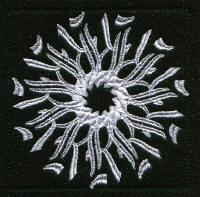 Keyboard Snowflakes Set B