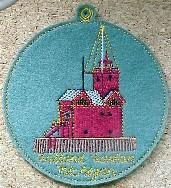 Christmas Lighthouse Advent Calendar