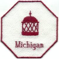 Realistic Michigan FSL Bowl And Doily