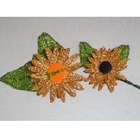Fall Mylar 3D Flowers