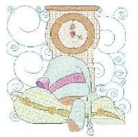 Bedtime Sunbonnet Quilt