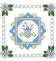 Pams Blue Quilt