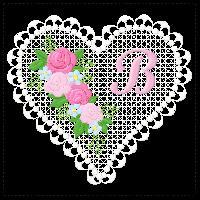 Lace Heart Alphabet - Projects