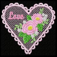 Lace Hearts 3-10