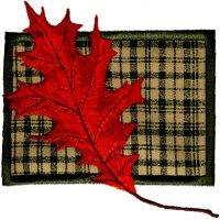 Falling Leaves on Applique-4