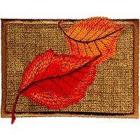 Falling Leaves on Applique-5