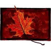 Falling Leaves on Applique-6