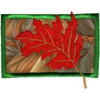 Falling Leaves on Applique-7