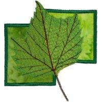 Falling Leaves on Applique-8