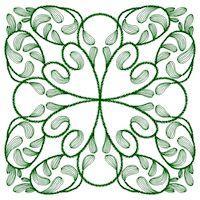 Leaf Quilt Squares - Set 1