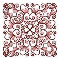 Leaf Quilt Squares - Set 3