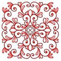 Leaf Quilt Squares - Set 4