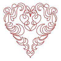 Lineart Hearts - Set 1