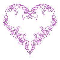 Lineart Hearts - Set 2