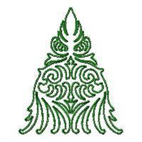 Lineart Christmas Trees - Set 1